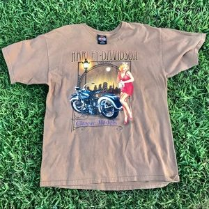 "Harley Davidson ""Classic Models"" Tee"